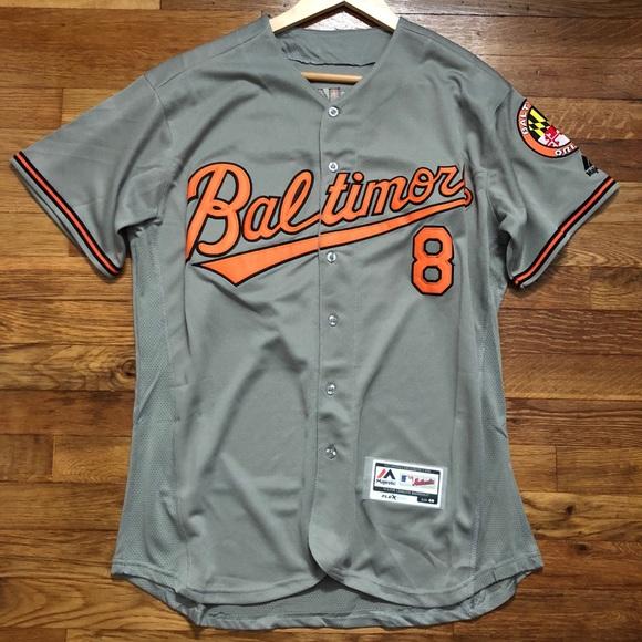 bf754d1fca1 Cal Ripken JR Retro Baltimore Orioles Jersey   40